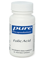 FOLIC ACID 800 MCG 60 VCAPS / PURE