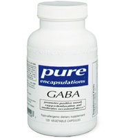 GABA 700 mg / Pure Encapsulations / 60 vcaps