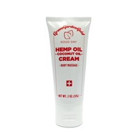Hemp Oil Body Massage Cream/ 2oz/ 75mg(CBD)