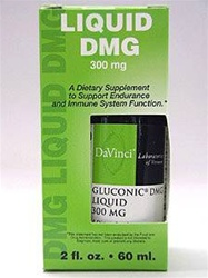 Gluconic DMG Liquid 300 mg /DaVinci Labs/ 2 oz