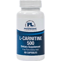 L-Carnitine 500 / Progressive Laboratories / 60 capsules