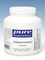 Magnesium Citrate 150 mg / Pure Encapsulations / 180 caps