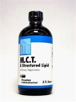 M.C.T. Oil (liquid) / Douglas Labs / 8 oz (MCT)