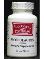 Monolaurin 600 mg / Ecological Formulas / 90 caps