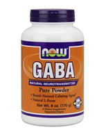 Gaba Powder / Now / 6 oz. (170 grams)