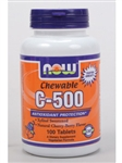 C-500 (Chewable) /NOW/ 100 tabs