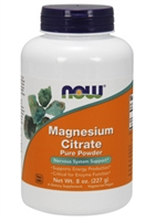 Magnesium Citrate Pure Powder / Now / 8oz
