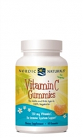 Vitamin C Gummies 250mg / Nordic Naturals / 60 gummies