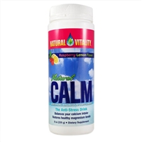 Natural Calm Raspberry-lemon / Natural Vitality / 8 oz.