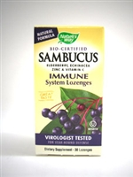 Sambucus Immune System Lozenges /Natures Way/ 30 loz