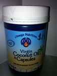 Coconut Oil Virgin / Omega Nutrition / 1000 mg 150 gel caps_ND