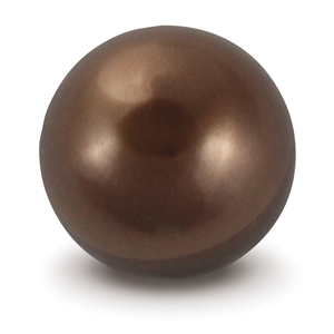 Chocolate Faux Pearl