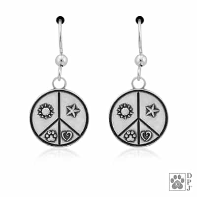 Sterling Silver Random Acts of Kindness Earrings