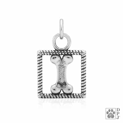 Sterling Silver Box Bone Charm