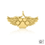 Gold pet memorial gifts, 14K gold memorial gifts, 14K gold memorial jewelry