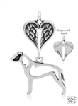 Sterling Silver American Staffordshire Terrier Memorial Jewelry -- new