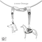 Smooth Coat Collie Necklace, Smooth Coat Collie Jewelry