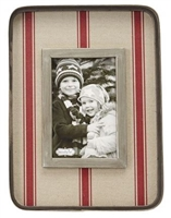 mud pie grain sack large square tin frame