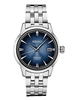 Men's Seiko Presage stainless steel & blue faced automatic winding watch
