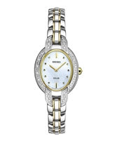 Seiko Tressia Solar Powered Ladies Diamond Watch