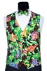 Tropical Fish Vest & Bow