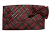 Holiday Plaid Cummerbund & Bow Set