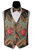 Tropical Paradise Vest & Bow