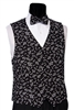 Musical Notes Vest & Bow
