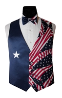 Lone Star Patriotic Vest & Bow