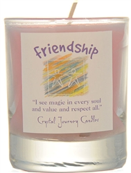 Herbal Magic Filled Votive Holders - Friendship