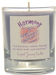 Herbal Magic Filled Votive Holders - Harmony