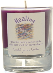 Herbal Magic Filled Votive Holders - Healing