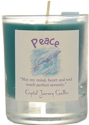 Herbal Magic Filled Votive Holders - Peace