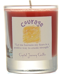 Herbal Magic Filled Votive Holders - Courage
