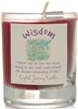 Herbal Magic Filled Votive Holders - Wisdom