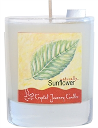 Soy Filled Votive Holders - Sunflower