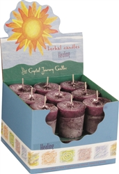 Herbal Magic Votives - Box of 18 - Click to view scents