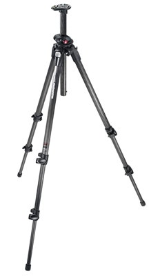 Manfrotto 190 Carbon Fiber 3 Section Legs