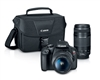 Canon EOS Rebel T7 DSLR WiFi 18-55mm + EF 75-300mm Double Zoom Kit