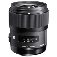 Sigma 35mm f/1.4 DG HSM Art Lens for Nikon Mount