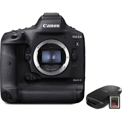 Canon EOS-1D X Mk III (Body Only)
