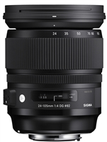 Sigma 24-105mm f/4 DG HSM Art Lens for Nikon F