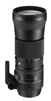 Sigma 150-600mm  DG HSM Contemporary Lens for Canon Mount