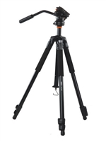 Vanguard ABEO 243AV Aluminum Tripod with PH-113V Video Pan Head