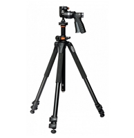 Vanguard 263-AGH 3-Section Aluminum Alloy Alta Pro 263-AT Tripod Legs with GH-100 Pistol Grip Head