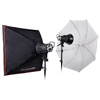 EX150 MkIII 2-Light Umbrella & Softbox Kit