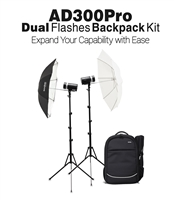 Godox AD300pro Dual Flash Backpack Outdoor Kit