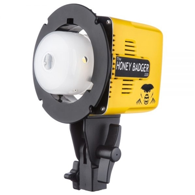 Honey Badger – 320Ws Compact Flash Head