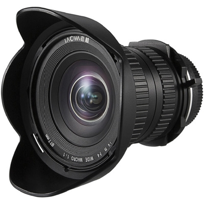 Venus Optics Laowa 15mm f/4 Macro Lens for Canon EF