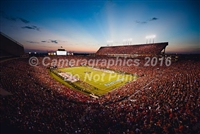 Jordan-Hare Stadium at Sunset